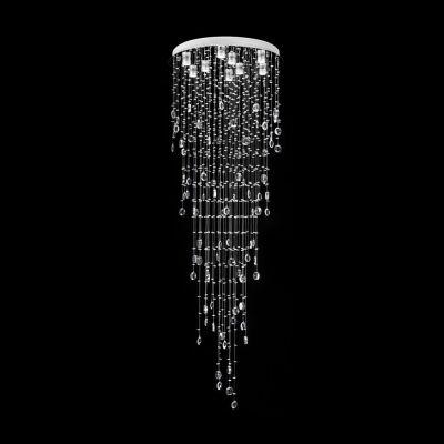 Raindrop Crystal LED Ceiling Light, 66cm