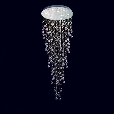 Snowdrop Crystal LED Ceiling Light, 66cm