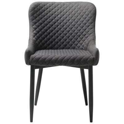 Danya Fabric Dining Chair, Grey