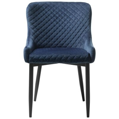 Danya Fabric Dining Chair, Blue
