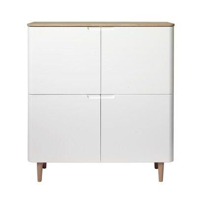 Sienna 4 Door Cupboard, 110cm