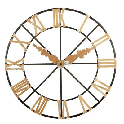 Stuck In Time Faux Wall Clock, 118cm