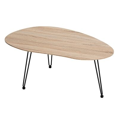 Zaan Coffee Table, 110cm