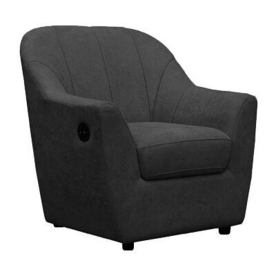 Arundel Fabric Tub Chair, Black
