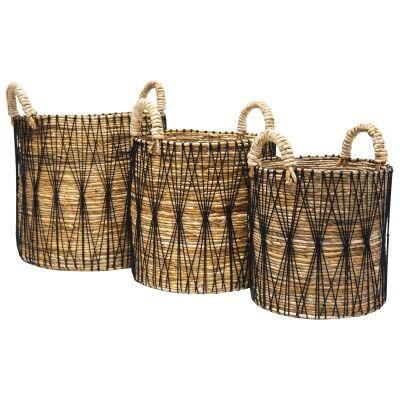Akbar 3 Piece Storage Basket Set