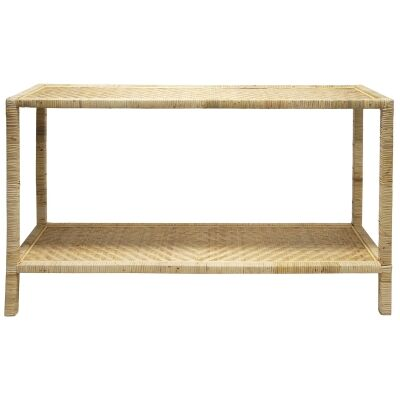 Brynlee Rattan Console Table, 115cm