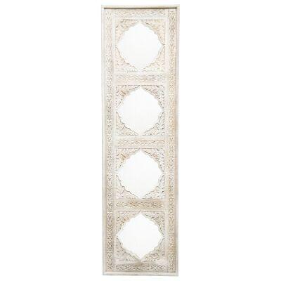 D'Cruz Wooden Frame Mirror Pannel, 180cm