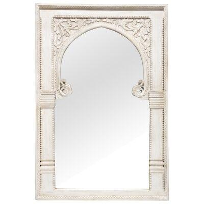 Deshpande Mango Wood Frame Wall Mirror, 135cm