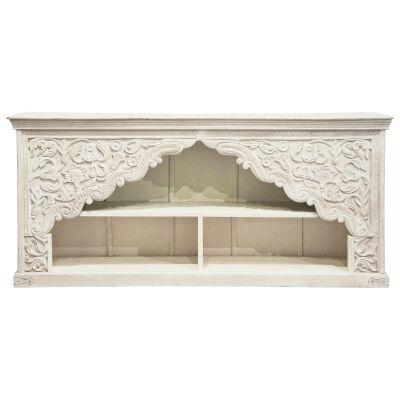 Sherazi Mango Wood Hall Table, 192cm