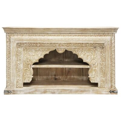 Patil Mango Wood Hall Table, 148cm