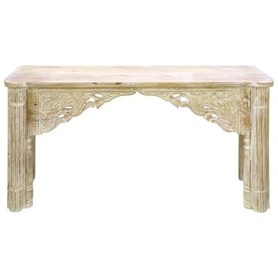 Kaur Mango Wood Console Table, 170cm