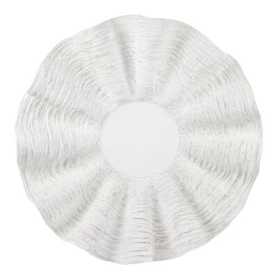Capriz Clam Shell Wall Mirror, 100cm