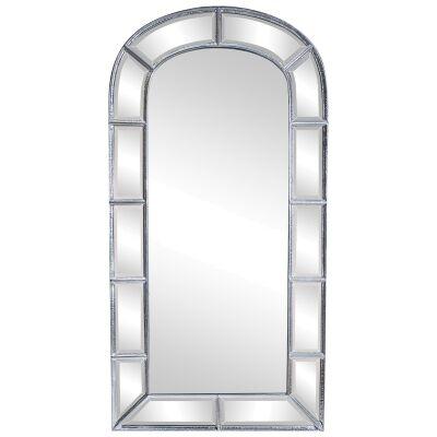 Arc De Triomphe Iron Frame Floor Mirror, 238cm