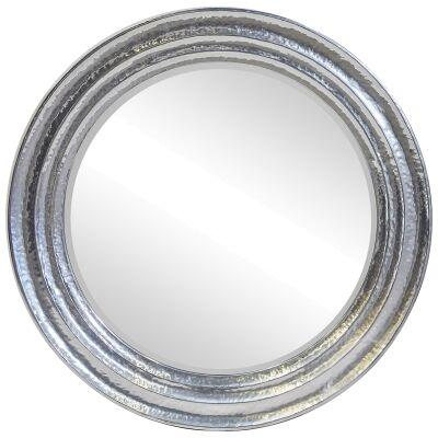 Eclipse Iron Frame Wall Mirror, 120cm