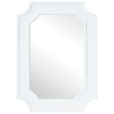Bungalow Timber Frame Wall Mirror, 110cm