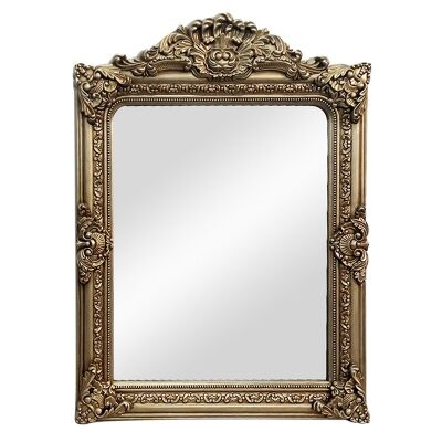 Elizabeth Baroque Wall Mirror, 120cm, Antique Gold