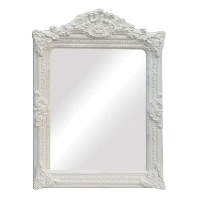 Elizabeth Baroque Wall Mirror, 120cm, White