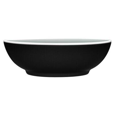 Noritake ColorTrio Porcelain Coupe Cereal Bowl, Graphite