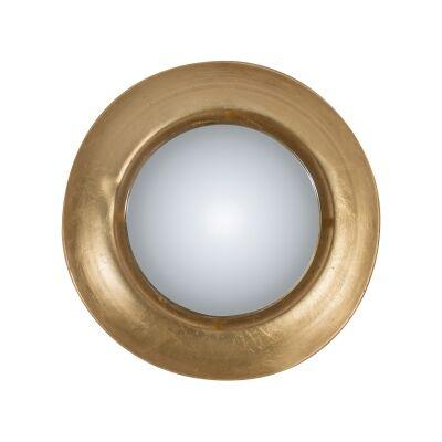 Golden Eye Metal Frame Wall LED Mirror, 48cm