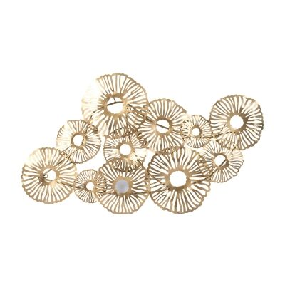 Clustered Cloud Iron Wall Art