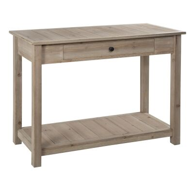 Abi Wooden Decorative Console Table, 100cm