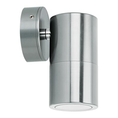Shadow IP65 Exterior Down Only Wall Light, Titanium Silver