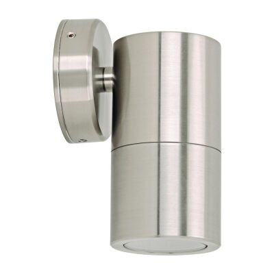 Shadow IP65 Exterior Down Only Wall Light, Stainless Steel