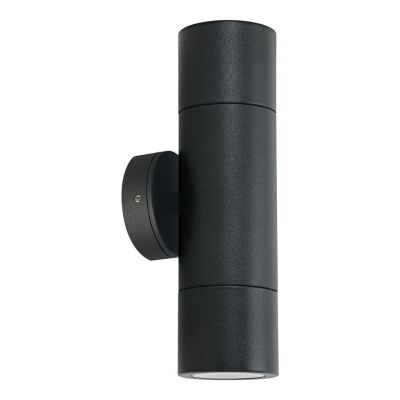 Shadow IP65 Exterior Up / Down Exterior Wall Light, Black