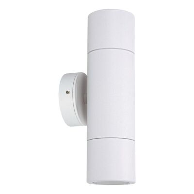 Shadow IP65 Up / Down Exterior Wall Light, White