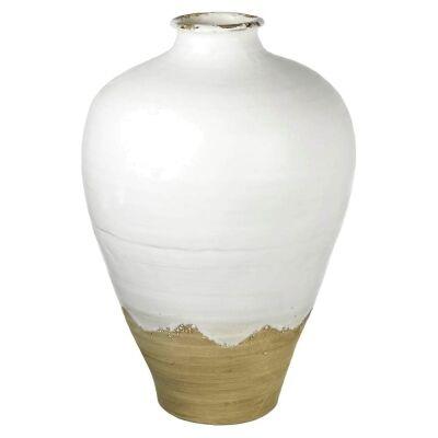 Oliveto Handmade Earthenware Vase