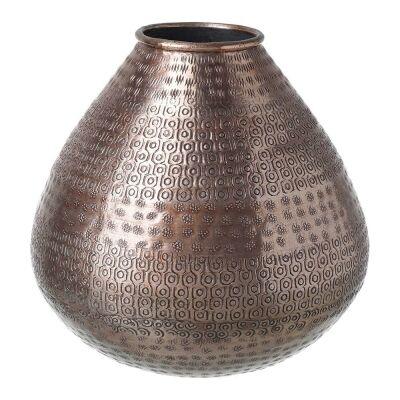 Ricketty Aluminium Vase