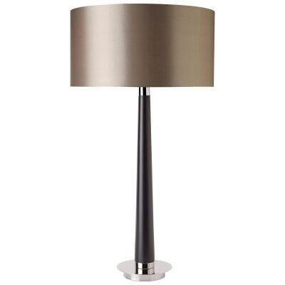Cinxia Wood & Metal Base Table Lamp