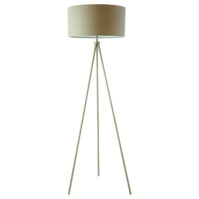 Clara Steel Tripod Floor Lamp