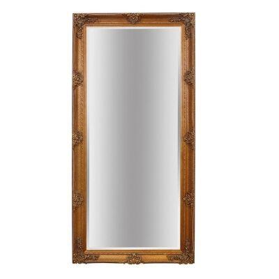 Abbey Leaner Mirror, 165cm, Gold