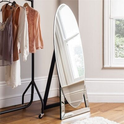 Novo Oval Cheval Mirror, 152cm