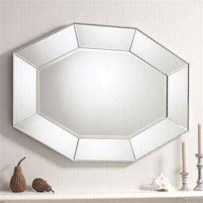 Ortega Octangular Wall Mirror, 120cm
