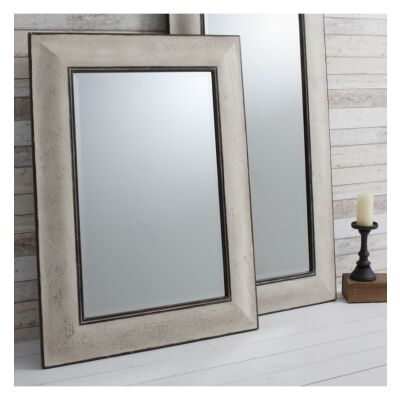 Ealham Wooden Frame Wall Mirror, 122cm