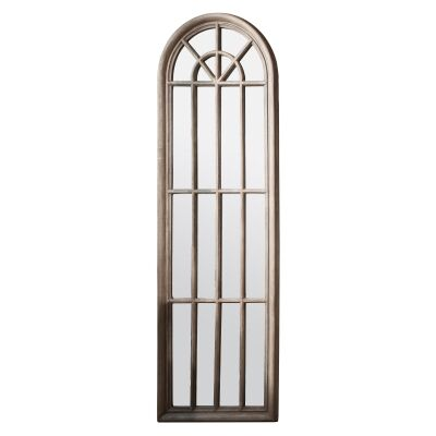 Calam Panelled Arch Window Mirror, 178cm