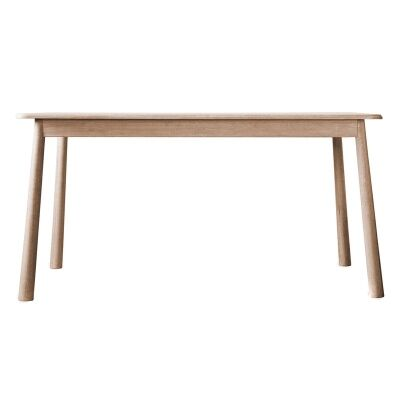 Willem Oak Timber Dining Table, 150cm, Natural