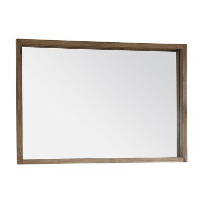 Kielder Oak Timber Mirror, 99cm