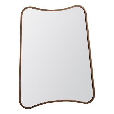 KabirMetal Frame Wall Mirror, 81cm, Gold