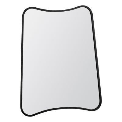 KabirMetal Frame Wall Mirror, 81cm, Black