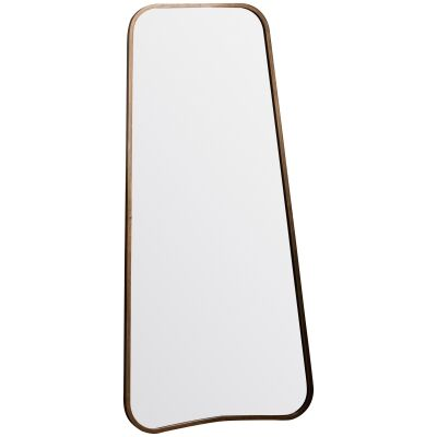 KabirMetal Frame Leaner Mirror, 122cm, Gold