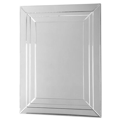 Raleigh Rectangular Mirror 900X30X1200Mm
