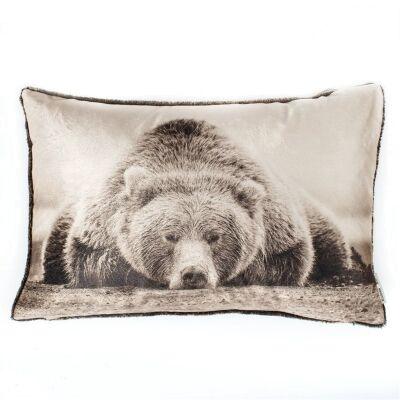 Sleepy Bear Cushion