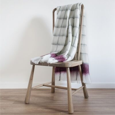 Buttermere Mohair Feel Cotton Throw