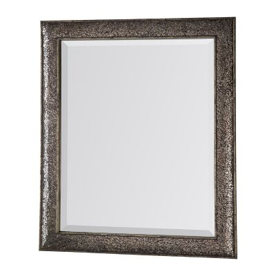 Amberley Crackled Frame Wall Mirror, 60cm