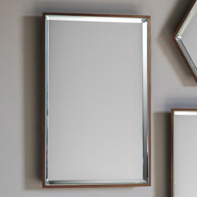 Pacific Metal Frame Wall Mirror, 55cm