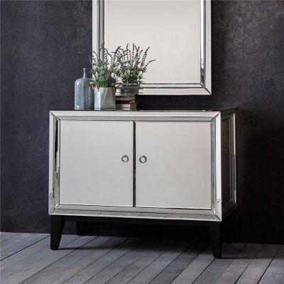 Aster Mirrored 2 Door Cabinet