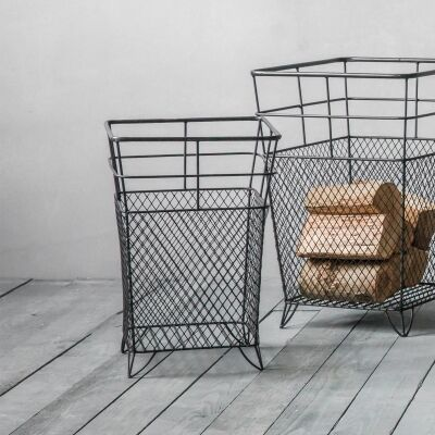 Lunde Metal Wire Storage Basket, Medium